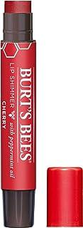 Burt's Bees 100% Natural Moisturizing Lip Shimmer, Cherry - 1 Tube