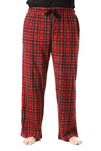 45902-10-M #FollowMe Polar Fleece Pajama Pants for Men / Sleepwear / PJs,Print 10,Medium