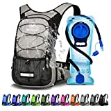 Mothybot Hydration Pack, Insulated Hydration Backpack with 2L BPA Free Water Bladder and Storage,...