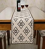 Sucastle® 30x160cm cotone Runner per tavolo Tovaglie