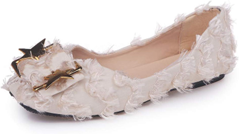 Cloudless Women's Natural Elegant Comfort Walking Flat Loafer