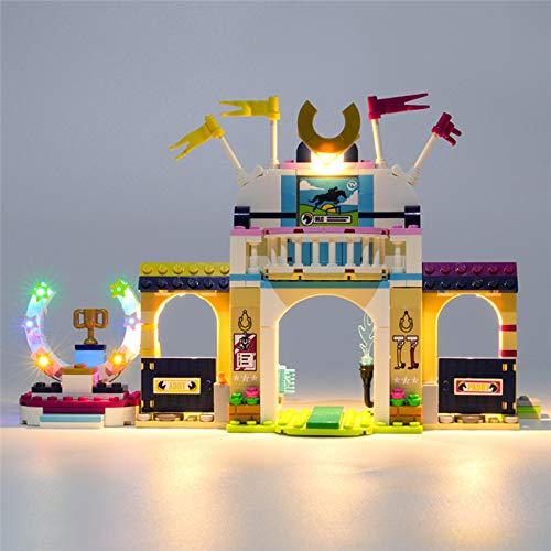 USB Juego de Luces de para Friends Stephanie's Horse Jumping Modelo de Bloques de Construcción, Kit de Luces Compatible con Lego 41367 (Modelo Lego no incluido)