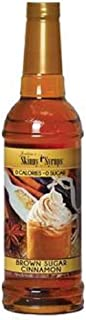 Jordans Skinny Syrups Happy Holidays Gourmet Coffee Syrups (Brown Sugar Cinnamon)