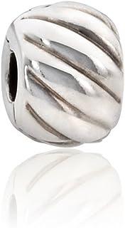 730f85fa3 Pandora Feathered Silver Clip Charm 791752