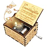 ukebobo Wooden Music Box- You are My Sunshine Music Box, from Grandmother to Granddaughter, Gifts for Kids,Newest Design Music Box - 1 Set