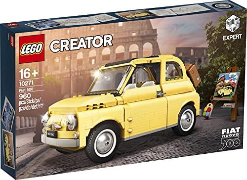 LEGO 10271 Fiat 500 Creator Expert Auto Modelismo Piezas 960