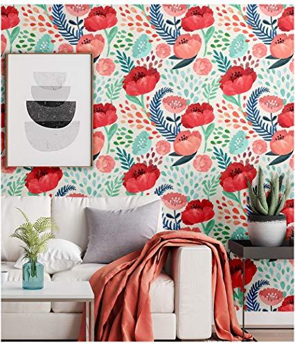Floral Removable Wallpaper