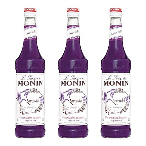 Monin Sirup Lavendel, 0,7L 3er Pack