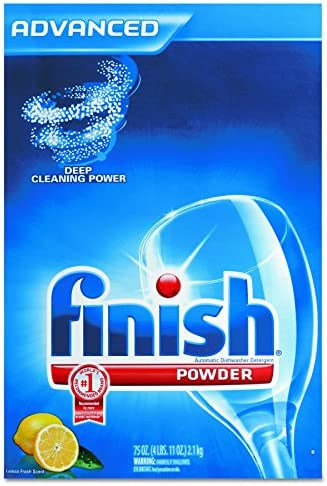 FINISH 78234 Automatic Dishwasher Detergent Lemon Scent Powder 2 3 qt Box Case of 6 product image