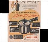 Wear Ever Aluminum Pressure Cooker Home Food 1947 Vintage Antique Advertisement