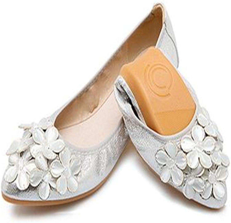 Gusha Soft Egg roll shoes Women's Folding shoes Flat shoes Casual shoes