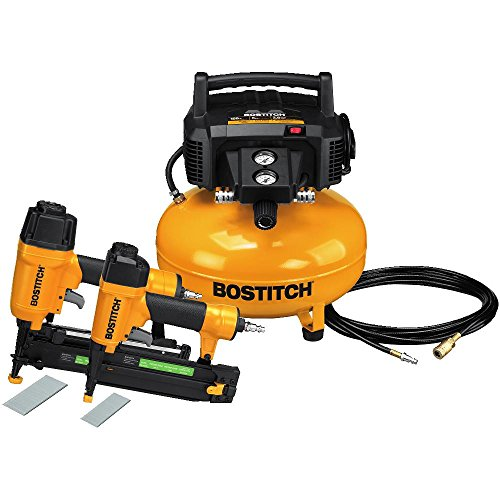 BOSTITCH U/BTFP2KIT Reconditioned 2 Piece Nailer and Compressor Combo Kit (Renewed)