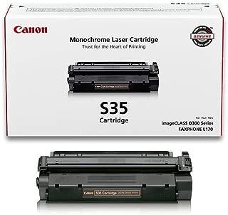 Canon Genuine Toner, Cartridge S35 Black (7833A001), 1 Pack, for Canon imageCLASS D320, D340, FAXPHONE L170