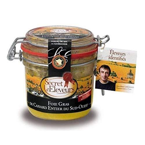 avis foie gras professionnel Foie gras de canard entier secret de l'éleveur 180g du sud-ouest