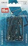 Prym Imperdibles de Seguridad, 18Unidades, Color Negro, 27/38/50mm