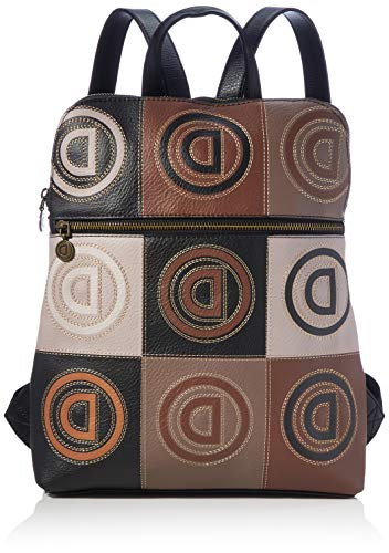 Desigual Accessories PU Backpack Medium, Mochila. para Mujer, marrón, U (Ropa)