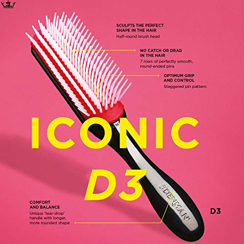 Denman D3 Classic 7 Row Styling Hairbrush