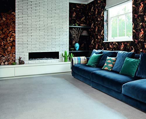 PVC Bodenbelag im Sand-Design, hellgrau (9,95€/m²), kleines Muster