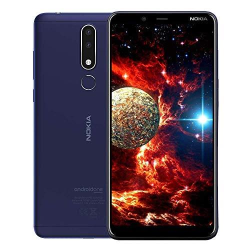 "Nokia 3.1 Plus,6""HD+ Display, Android UK Sim-Free Smartphone with 3GB RAM and 32GB Storage (Single Sim) – Blue"