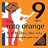 Rotosound RH9 Nickel Hybrid Electric Guitar Strings (9 11 16 26 36 46)