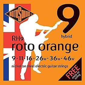 Cuerdas hechas de acero para la guitarra eléctrica Proporcionan un sonido cálido y claro Proporcionan versatilidad en todo el espectro dinámico Permiten una presión optima en el arco
