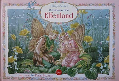 Shirley Barber's Puzzles aus dem Elfenland / mit vier 96-Teile-Puzzles
