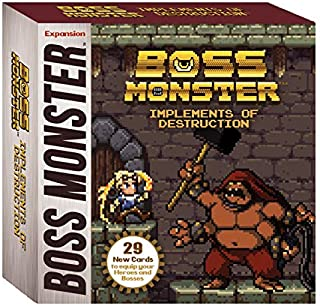 Brotherwise Games Boss Monster Implements of Destruction Board Games