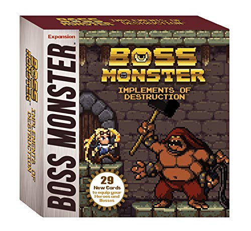 Brotherwise Games 016BGM Boss Monster Implements of Destruction - Juego de Mesa, Multicolor