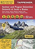 3D-Wanderkarte Sextner und Pragser Dolomiten: Cartina escursionistica 3D Dolomiti di Sesto e Braies (Kombinierte Sommer-Wanderkarten Südtirol) ... Topografische Karte + 3D-Panoramakarte)