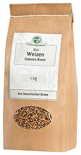 Chiemgaukorn Bio Weizen Ganzes Korn 1 kg