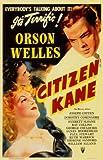 Posters Citizen Kane Gesichter Orson Welles Filmplakat