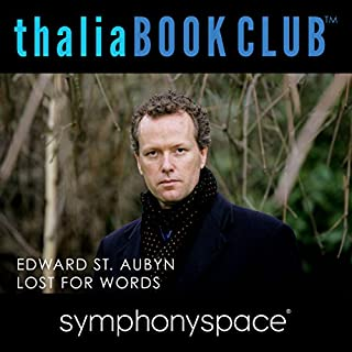 Thalia Book Club: Lost for Words by Edward St. Aubyn audiobook cover art