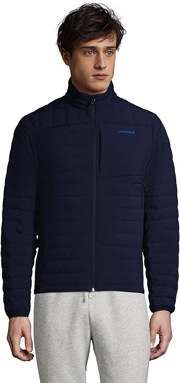 Lands' End New arrival Men's Limited time trial price Packable Down Jacket 800