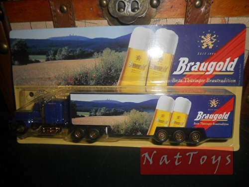 Editoria Model KOMPATIBEL MIT Camion Truck Braugold Bier lino Pubblicitari DIE CAST 1:87