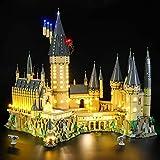 Briksmax Led Lighting Kit for Harry Potter Hogwart's Castle - Compatible with Lego 71043 Building Blocks Model- Not Include The Lego Set