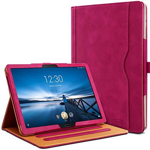 Karylax - Funda de protección integral y modo soporte horizontal de 3 inclinaciones para tablet Lenovo Tab M10 HD de 10,1 pulgadas, color rosa