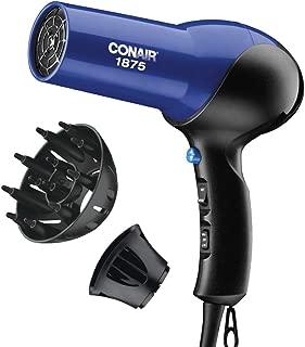 Conair 1875 Watt Turbo Hair Dryer, Blue / Black