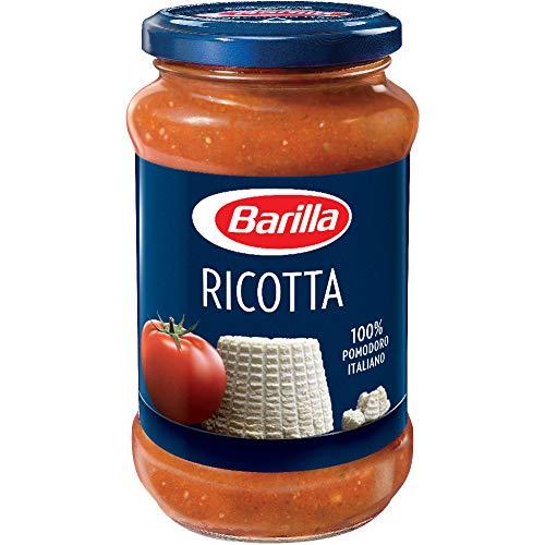 Barilla - Salsa de Tomate con Queso Ricotta - 100% Tomate Italiano - Receta Italiana por Excelencia - 400 Gramos