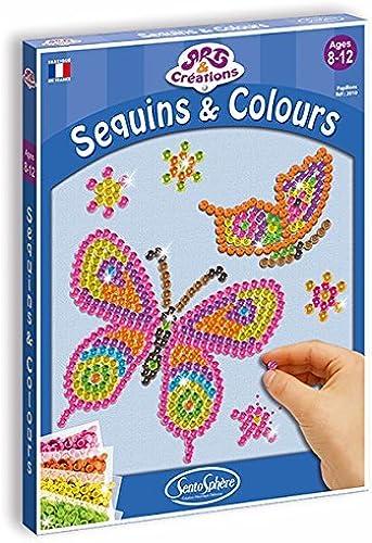 Sentosphre 3902010 Mosaic Picture papillon Craft Set by Sentosphre