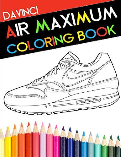 Air Maximum Coloring Book (DaVinci Coloring Book Collection)