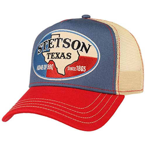 Stetson Gorra Trucker Texas Home of BBQ Mujer/Hombre - de Beisbol Baseball...