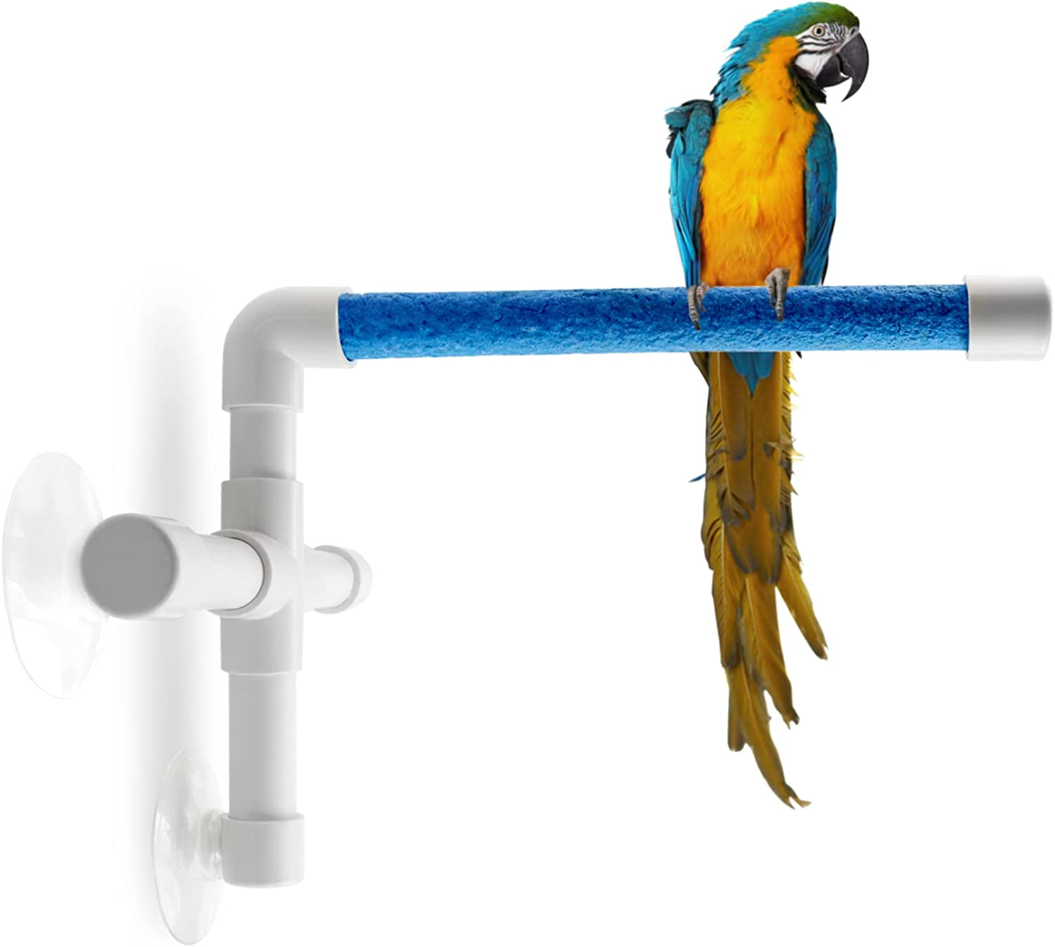 CZWESTC Bird Large discharge sale Perch with Suction Cup Pe Window Shower and Ranking TOP20 Parrot