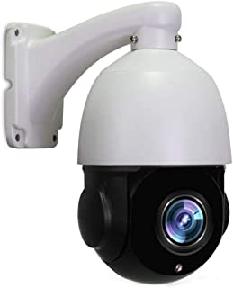 PTZ Camera,LEFTEK PoE PTZ Camera Outdoor IP HD 4.0 MP(2560x1440 Pixel) IR High Speed Dome Camera Night Vision 20x Zoom 4.7-94mm Lens 196ft IR Distance H.265/H.264 Built in RJ45 Onvif
