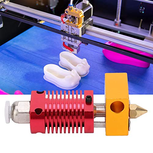 Cabezal de extrusión de extremo caliente, impresora 3D Cabezal de extrusión de pórtico Cabezal de impresión Kit remoto Hotend Hecho de todos los accesorios de cabezal de extrusión de metal Reemplazo p