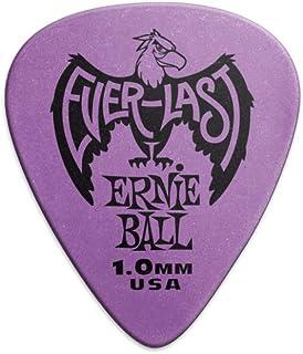 Ernie Ball P09193 Ernie Ball 1.0 mm Everlast Picks 12 Pack, Purple, Purple, 1.0 mm