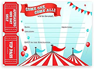 Best circus birthday party invitations Reviews