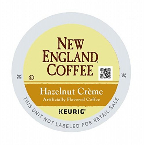 New England Coffee Hazelnut Creme 12 Count Single Serve K-cup Pods