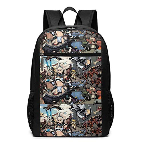 World card game Dynamic Hunting Milla Jovovich monster hunter Iceborne School Backpack Fashion Calendar Men,Women,unisex,adult Mountaineering,shopping,college Easter