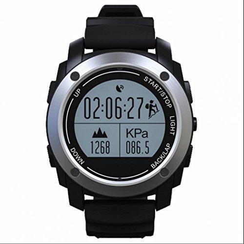 Herzfrequenz Fitness Tracker Smartwatch Barometer Smart Watch Sport Watch mit Schlaf Monitor Sedentary Reminder mit Andorid IOS Syestem