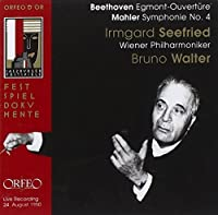 Egmont-Ouvert眉re; Symphony No. by BEETHOVEN / MAHLER (2011-02-22)